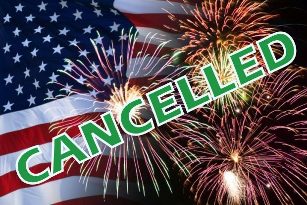 Fireworks Cancelled