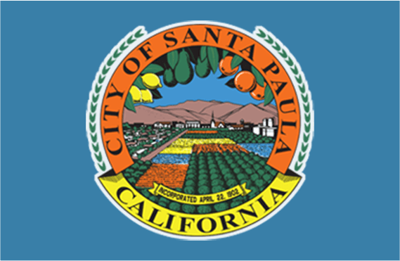 City of Santa Paula CA Seal